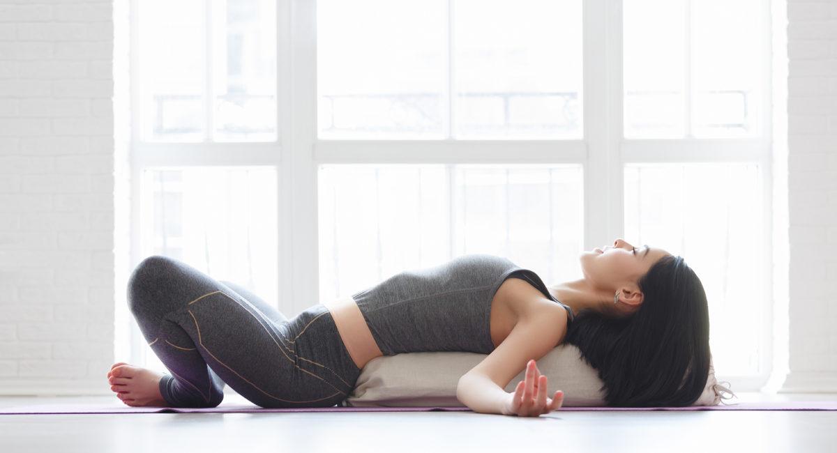 bolster yoga paura