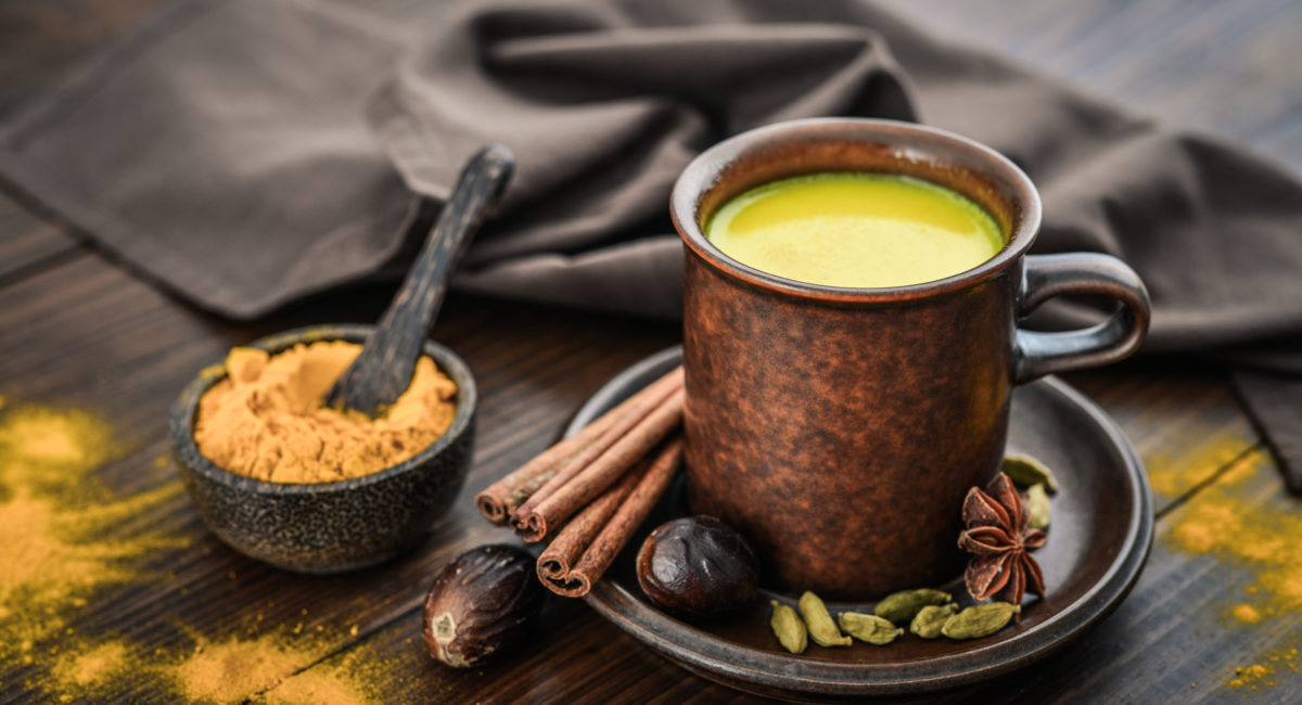 latte d'oro curcuma yogi