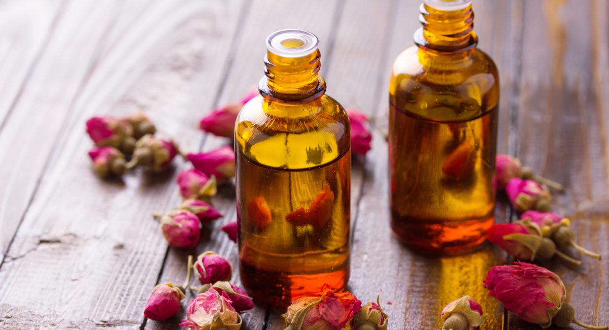 smagliature olio alla rosa