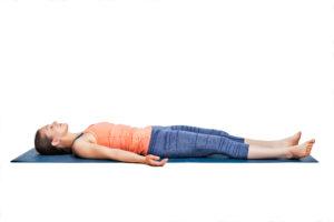 yoga antistress Savasana
