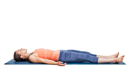 yoga antistress Savasana