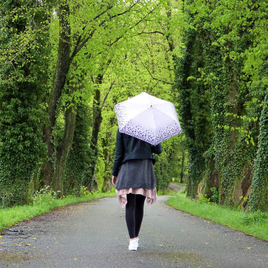 pioggia zona confort