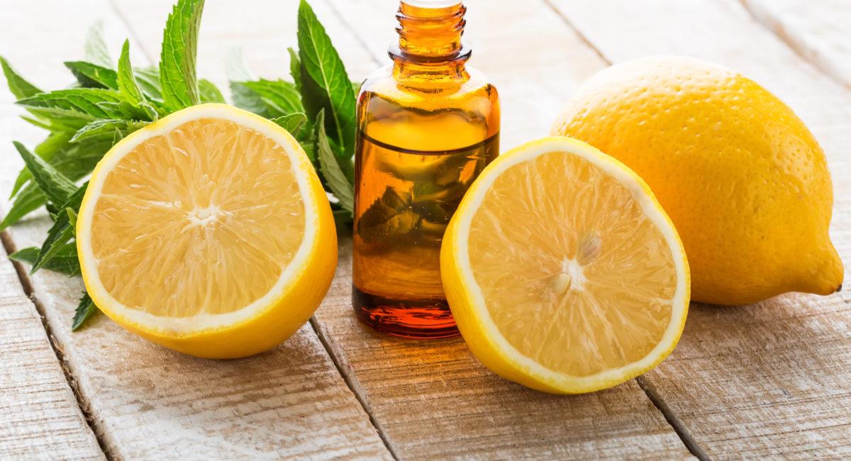 oli essenziali limone