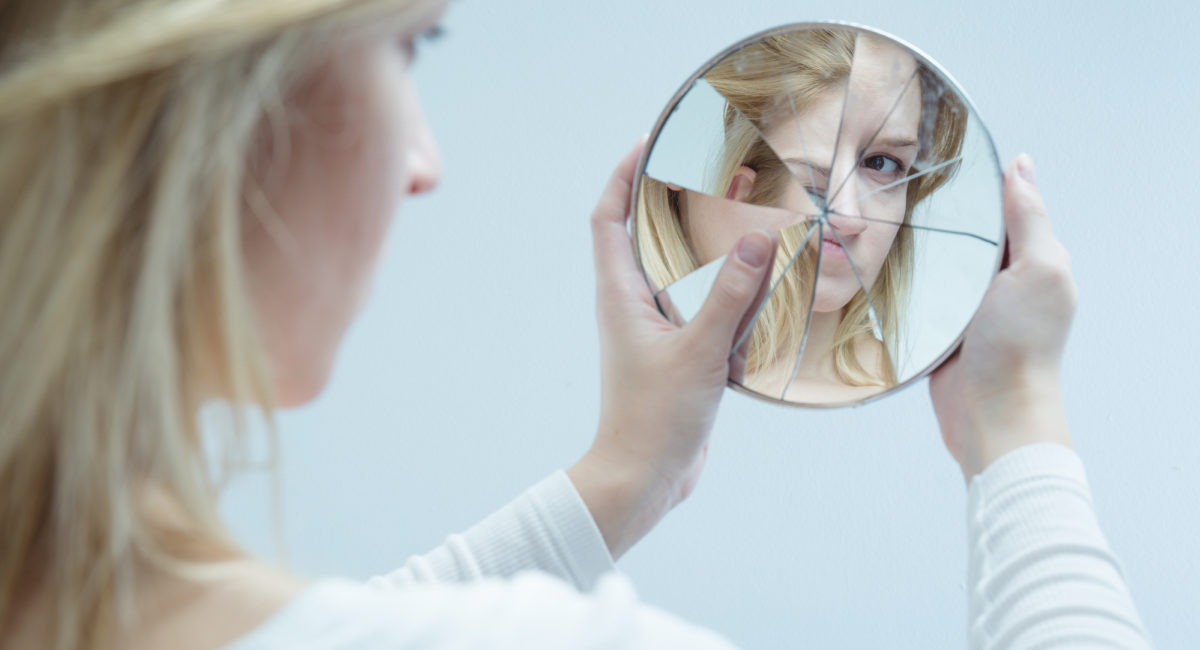 immagine distorta di sé