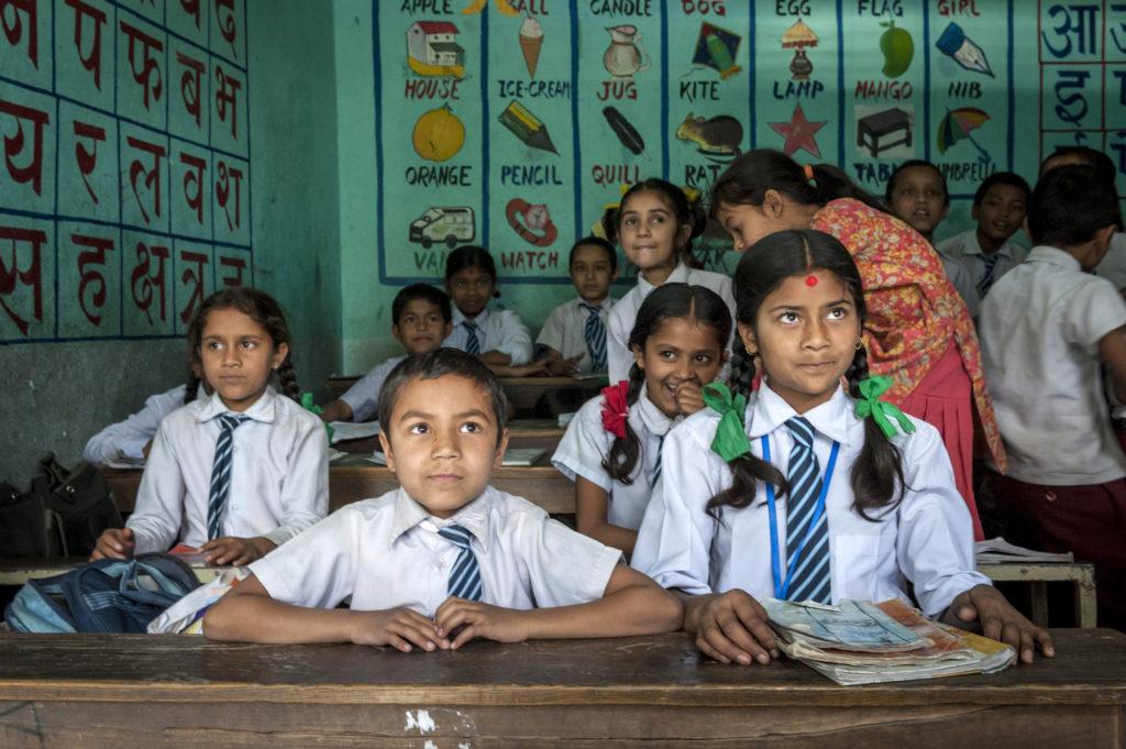 studenti Nepal