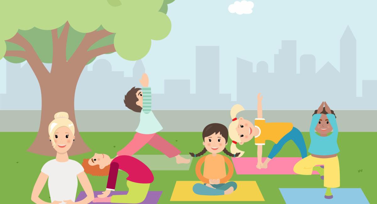 bambini yoga adolescenti