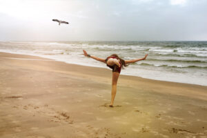 pposizone yoga del gabbiano