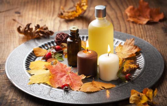 autunno oli essenziali