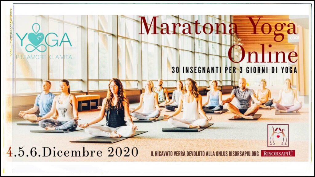 maratona benefica yoga on line