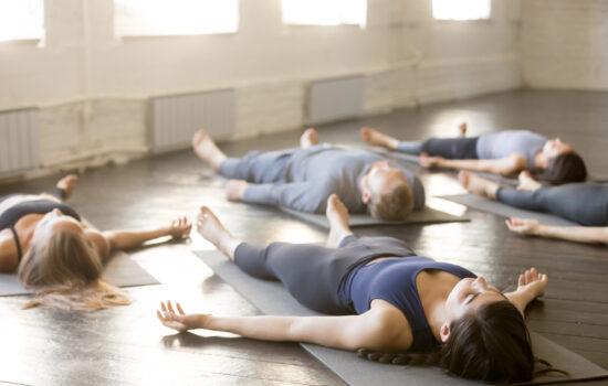 yoga nidra savasana