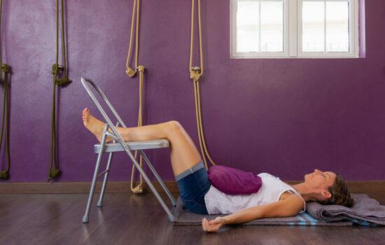 gambe yoga
